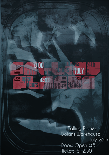 Falling Planes Poster