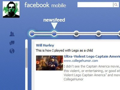 Facebook Mobile Concept
